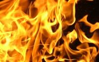 В Киеве полицейские вынесли из пожара трех человек