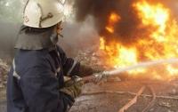 В Харьковской области горел элеватор
