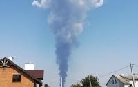На Львовщине случился опасный пожар (видео)