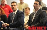 Братья Кличко решили баллотироваться в Верховную Раду