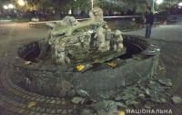 На Львовщине в фонтан бросили взрывчатку
