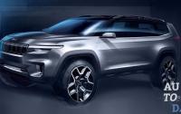Новый кроссовер Jeep Yuntu получит семь посадочных мест