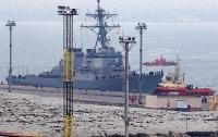 Американский эсминец зашел в порт Одессы
