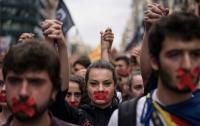 В Каталонии объявили всеобщую забастовку