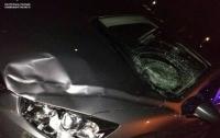 Пьяный водитель сбил патрульного на Львовщине и попытался скрыться