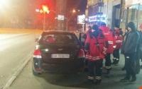 Киевлянка весом в 150 кг застряла в автомобиле