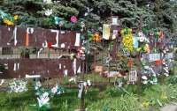 В Одессе осквернили мемориал погибшим в Доме профсоюзов 2 мая