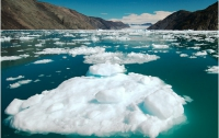 В Гренландии раскололся ледник способный повысить уровень мирового океана