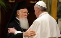 Нардепы хотят пригласить Папу Римского и Вселенского Патриарха