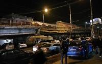 Рухнувший в Киеве мост будут реконструировать в течение двух лет, - Кличко