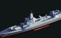 Китай спустил на воду суперсовременный эсминец