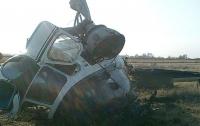 Под Полтавой упал вертолет Ми-2