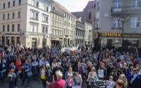Польские ученики поддержали забастовку учителей