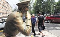 В Донецке гаишнику отпилили жезл (ФОТО)