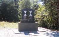 Как в Ровненской области памятник жертвам