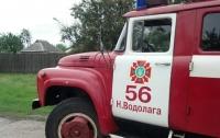 Пожар на Харьковщине: погиб мужчина, еще один в больнице
