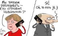 Путин и Меркель вдохновили художника