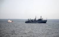 Военно-морские силы Украины провели боевые стрельбы