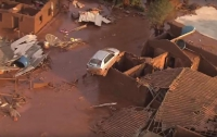 В Бразилии из-за прорыва дамбы погибло 17 человек (ВИДЕО)