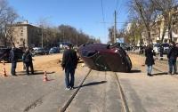 Взрыв газа случился на дороге в Одессе