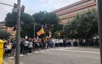 В Каталонии протестуют против приговоров лидерам движения за независимость