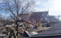 Под завалами могут быть люди: в Киеве взрыв разрушил дом