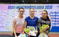 Украинские легкоатлетки заняли весь пьедестал на турнире в Эстонии