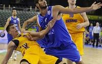 Евробаскет-2013. Украинцы одержали победу на Израилем