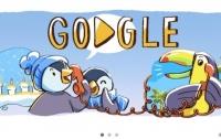 Google создал новогодний дудл