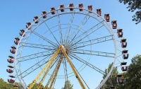 Тернопольский подросток пытался украсть колесо обозрения