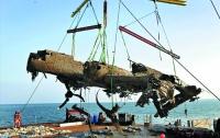 Со дна Ла-Манша достали хорошо сохранившийся немецкий бомбардировщик