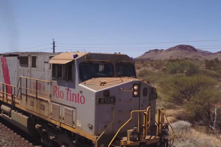 ВАвстралии тестируют 1-ый «поезд-беспилотник»
