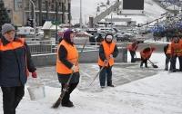 В Казахстане чиновница пообещала убрать снег в июне