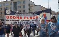 Варшаву захлестнула волна протестов медиков