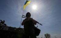 В Одессе раненным бойцам АТО передали обувь для покойников