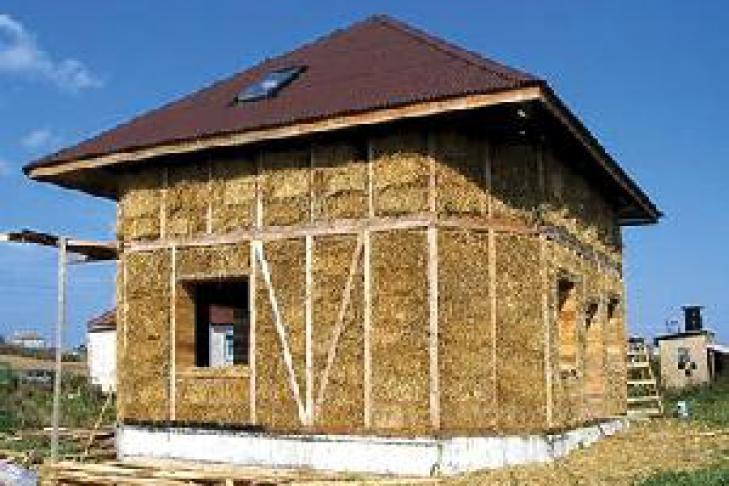 эко дом из соломы в спб сеть