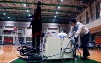 Toyota створила робота-баскетболіста (ВІДЕО)