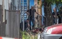 В Днепре около 40 мужчин в балаклавах стреляли в людей
