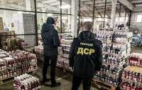 Полиция нашла огромную партию поддельной водки