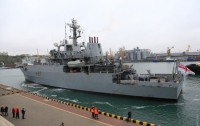 В Одессу прибыл британский разведывательный корабль