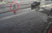 Водитель, который умышленно наехал на ребенка, задержан (видео)