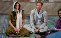 Меган Маркл посетила мечеть