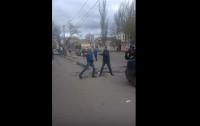 В Одессе произошла массовая драка (видео)