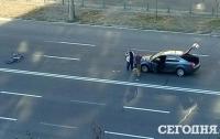 В Киеве авто сбило велосипедиста-нарушителя