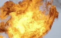 В Японии при попытке взлета загорелся истребитель
