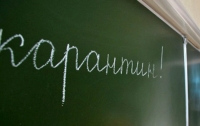 Во всех школах пригородов Киева объявлен карантин